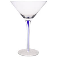 Blue Teardrop Martini