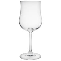 Petite Crystal Square Base Wine