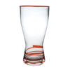 red swirl highball