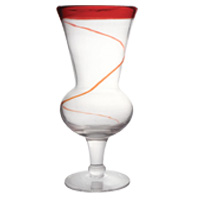 red rim hurricane with swirl